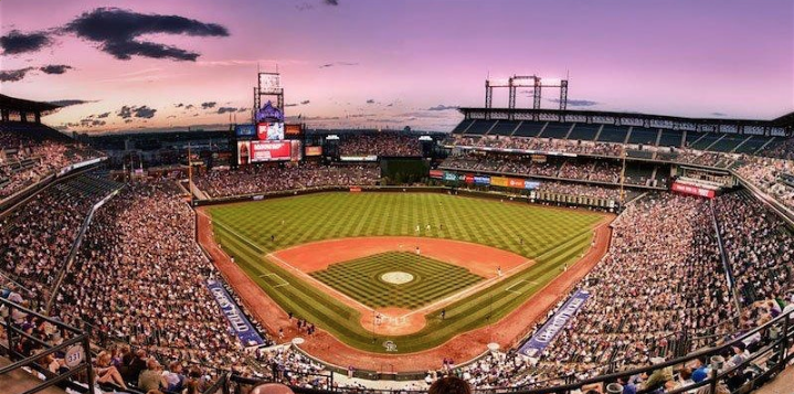 B2B Social At A Rockies Game